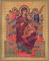 """Икона: образ Пресвятой Богородицы """"Всецарица"""""""