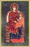 Икона: Пресвятая Богородица на престоле