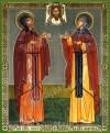Икона: Свв. благоверные князь Петр и княгиня Феврония