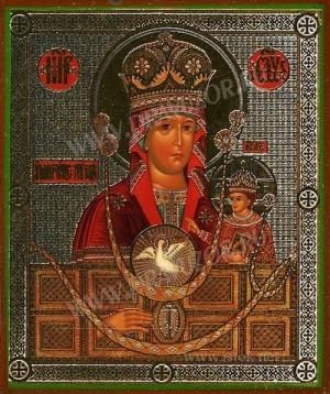 """Икона: образ Пресвятой Богородицы """"Умягчение злых сердец"""""""