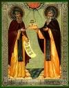 Икона: Валаамские старцы преподобные Сергий и Герман