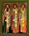 Икона: Вселенские Святители