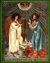 Икона: Св. Преподобный Алексий человек Божий и Ангел Хранитель