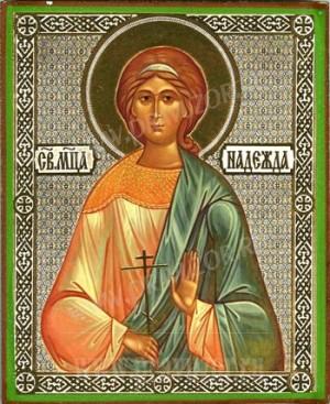 Икона: Св. мученица Надежда
