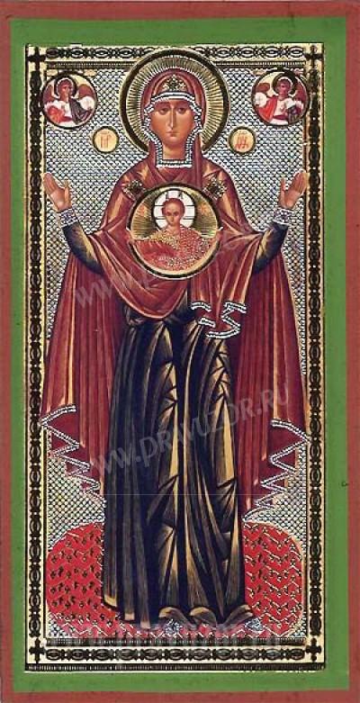 """Икона: образ Пресвятой Богородицы """"Знамение"""""""