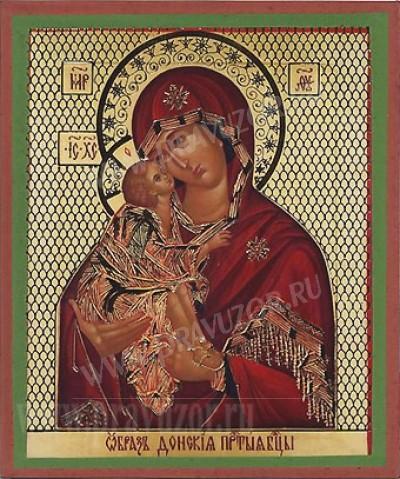 """Образ: """"Донская"""" икона Пресвятой Богородицы"""