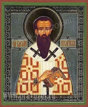 Икона: Святитель Василий Великий