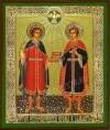 Икона: Святые чудотворцы Косьма и Дамиан