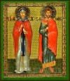 Икона: Свв. мученики Кир и Иоанн