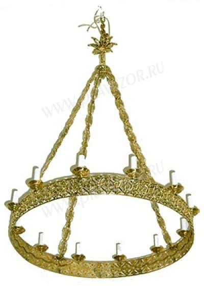 Одноярусное церковное паникадило (horos) -11 (12 свечей)