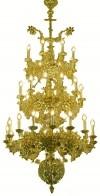 Трёхъярусное церковное паникадило -10 (36 свечей)