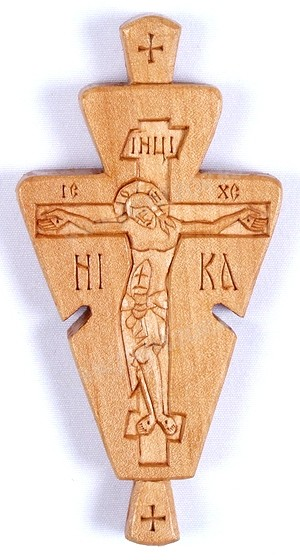 Параманный монашеский крест №56