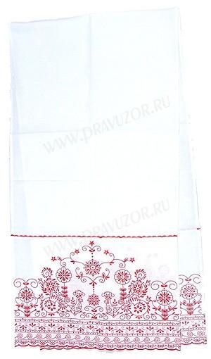 Вышитый венчальный рушник -2