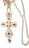 Крест наперсный ювелирный №54