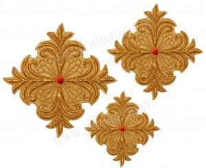 Кресты ручной вышивки №Д102