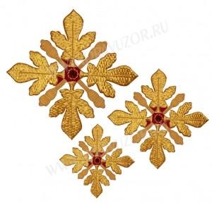 Кресты ручной вышивки №Д109