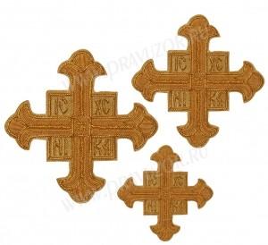 Кресты ручной вышивки №Д123