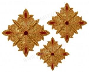 Кресты ручной вышивки №Д125