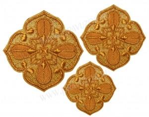 Кресты ручной вышивки №Д129