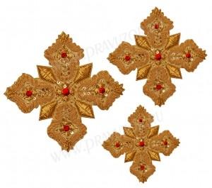 Кресты ручной вышивки №Д131