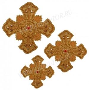 Кресты ручной вышивки №Д134