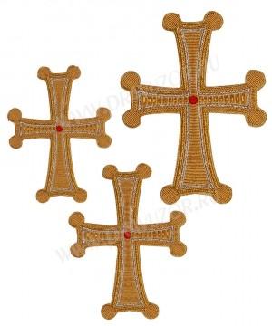 Кресты ручной вышивки №Д136