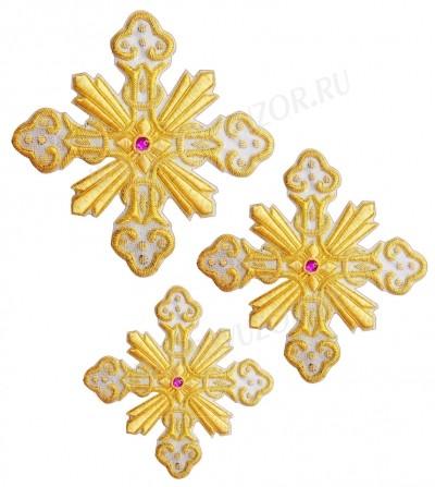 Кресты ручной вышивки №Д176