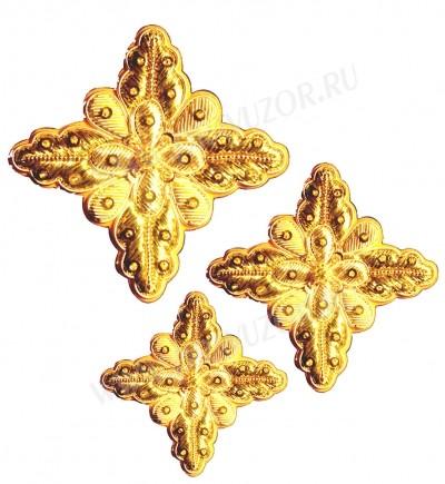 Кресты ручной вышивки №Д177