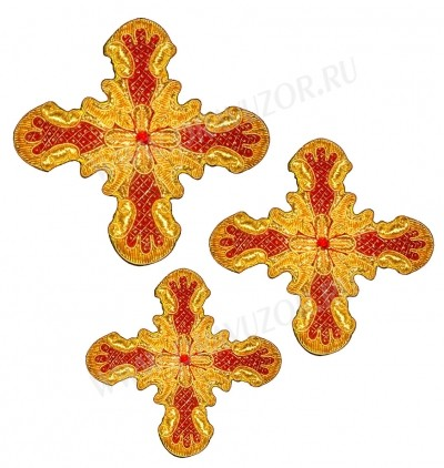 Кресты ручной вышивки №Д181