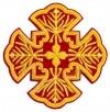 Кресты ручной вышивки №И-001