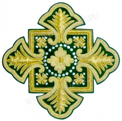 Кресты ручной вышивки №И-003