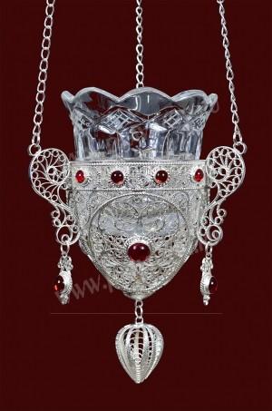 Филигранная подвесная лампада №5-6
