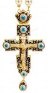 Крест наперсный с украшениями №85