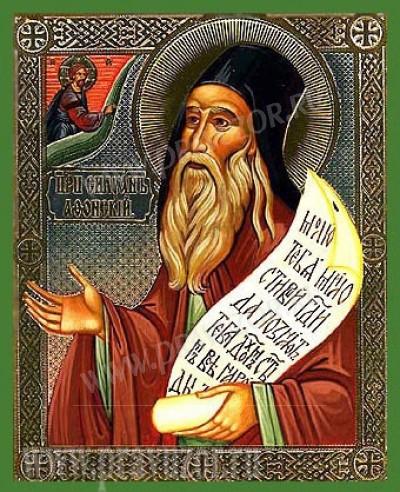 Икона: Преподобный Силуан Афонский