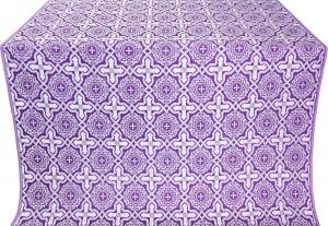 """Шёлк """"Златоуст"""" (фиолетовый/серебро)"""