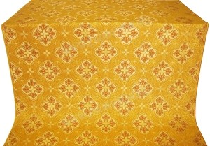 "Шёлк ""Кострома"" (жёлтый/золото)"