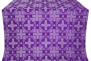 """Шёлк """"Иверон"""" (фиолетовый/серебро)"""