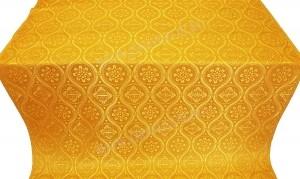 """Шелк """"Византия"""" (жёлтый/золото)"""