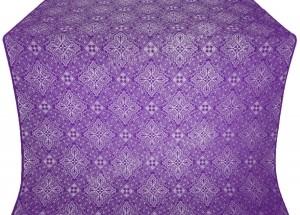 """Шелк """"Вильно"""" (фиолетовый/серебро)"""