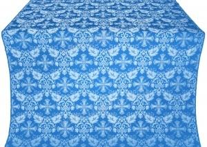 """Шёлк """"Курск"""" (синий/серебро)"""