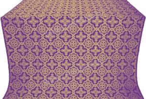 """Шёлк """"Старо-греческий"""" (фиолетовый/золото)"""