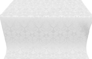 "Парча ""Жар-птица"" (белая/серебро)"