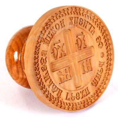 Православная печать для просфор NIKA №2 (80 мм)