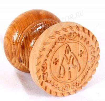 Православная печать для просфор Богородичная №9 (60 мм)