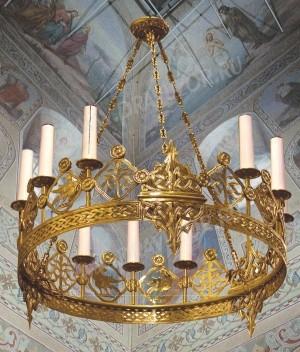 Хорос церковный греческий - 122 (9 свечей)