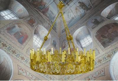 Хорос церковный греческий - 123-0 (18 свечей)