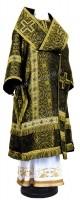 Архиерейское облачение из шёлка Ш2 (чёрный/золото)