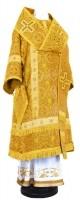 Архиерейское облачение из шёлка Ш4 (жёлтый/золото)