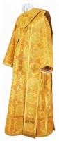 Дьяконское облачение из парчи П (жёлтый/золото)