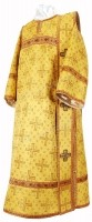 Дьяконское облачение из парчи ПГ1 (жёлтый-бордо/золото)